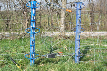 Stretching High Tensile Woven Wire | PasturePro